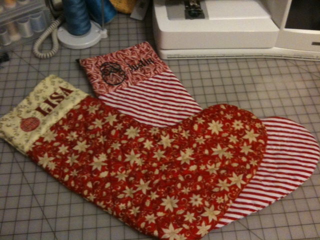 Ragged Christmas Stocking Pattern- 6 designs
