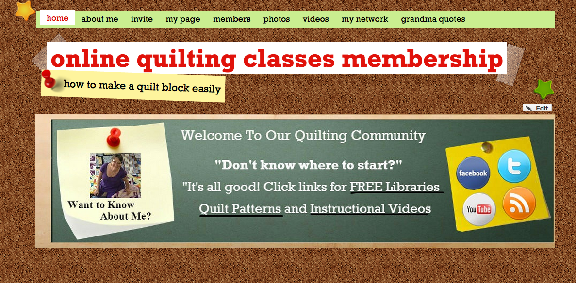 Online Quilting Classes Membership