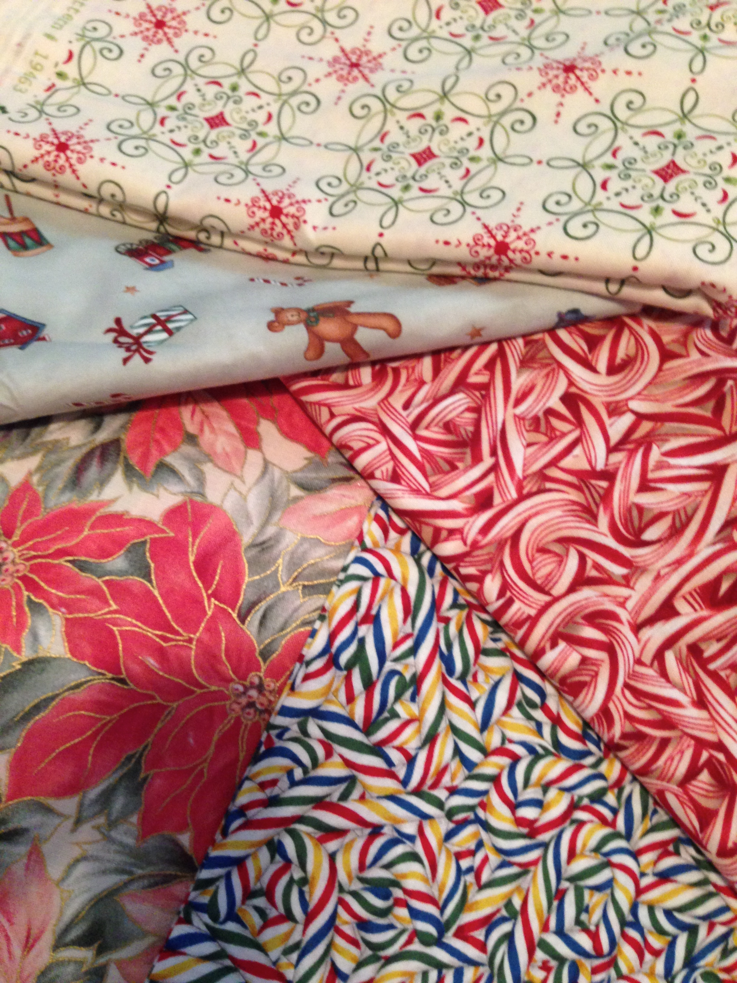 Christmas Fabric Choices