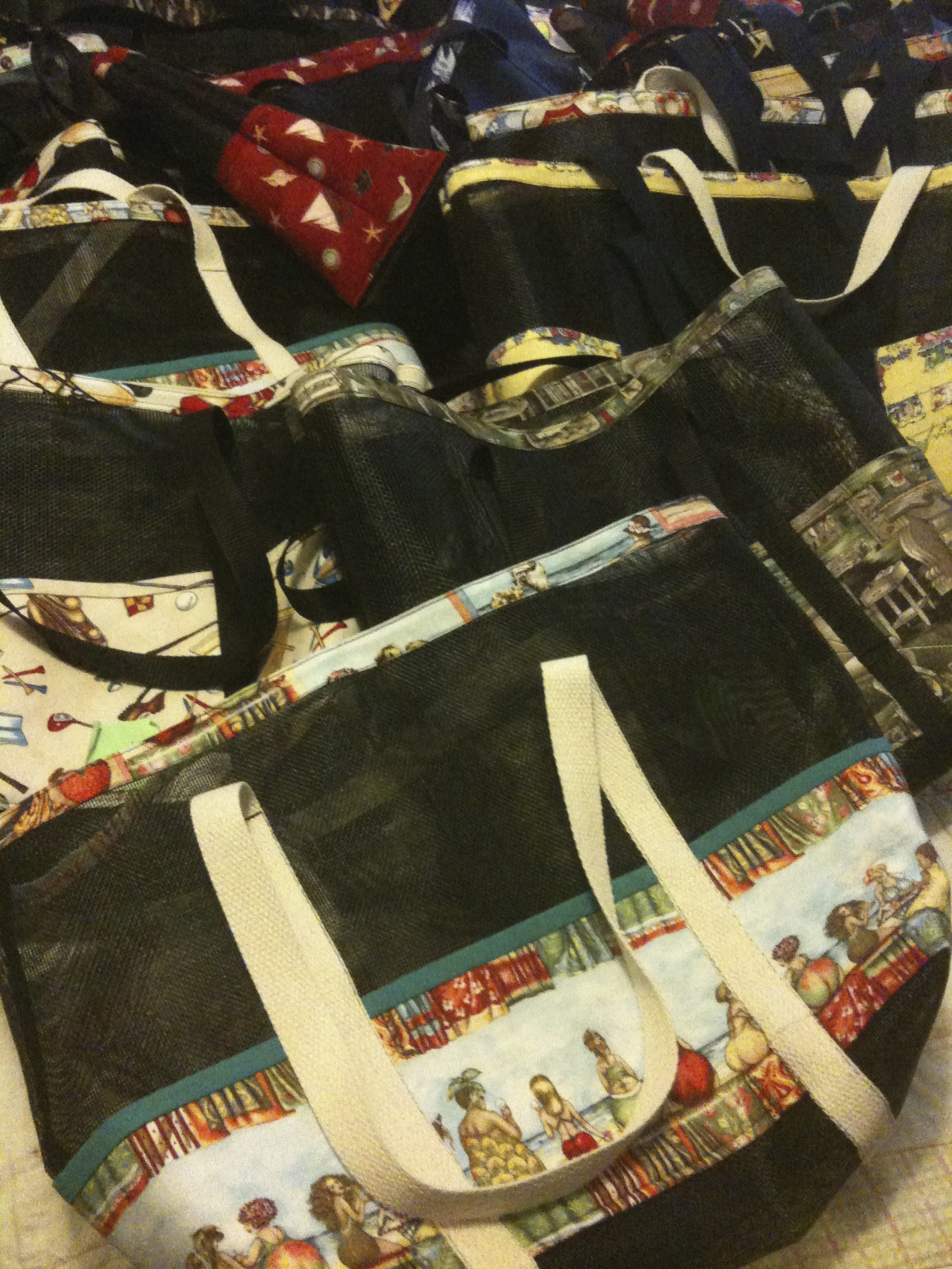 Sewing Christmas Bags